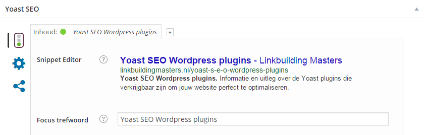 Yoast SEO wordpress plugins