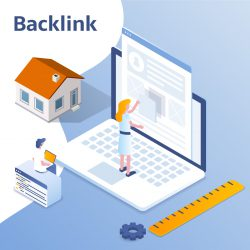 Homepage blog backlink