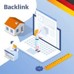 Homepage blog backlink Duits
